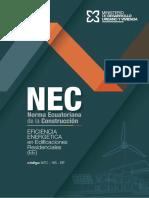 Eficiencia Energética Instalaciones Residenciales NEC-HS-EE-Final