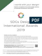 SDGs Awards2019 Flyer En