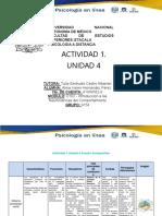 Actividad 1 Unidad 4 Cuadro Comparativo