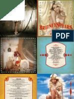 CD Britney Spears - Circus (Deluxe Version) Digital Booklet