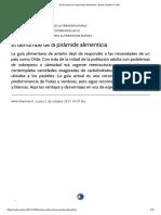 El Derrumbe de La Pirámide Alimenticia « Diario y Radio U Chile