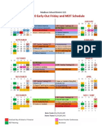 2019-2020 friday early out and mdt calendar - sheet1