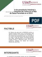 Prevalencia de Parasitosis Intestinal y Anemia en Menores