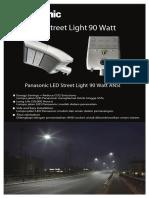 Brosur Lamp Jalan ANSI 90W