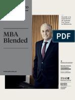 Mba Blended Brochure