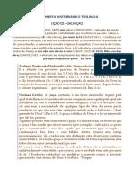 Suplemento Doutrinário e Teológico Licao 02