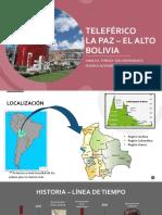 Teleférico La Paz Bolivia