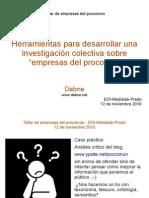 Taller de empresas Procomun Caso Practico (Medialab-Prado)