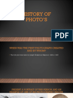 history of photos