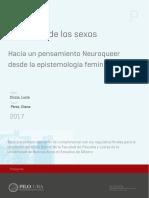 Uba Ffyl 2017 Ciccia Neurociencias y género