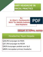 Primary Headache