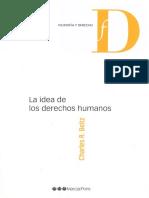 Beitz, Charles R. - La idea de los Derechos Humanos. OJO, BUENO, 2012.pdf