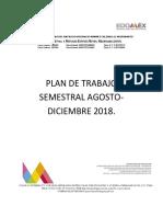 Plan Semestral Agosto-diciembre 2018