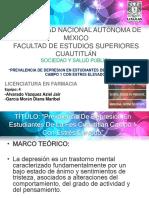 Presentación Estrés y Depresion