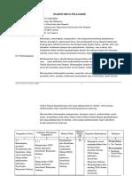 Silabus Pelaksanaan Dan Pengawasan Konstruksi Dan Properti