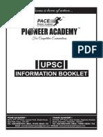 Information Booklet Upsc