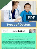 Types of Doctors Health6 q1