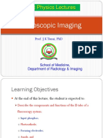 Lecture 19b Fluoroscopic X-ray Imaging