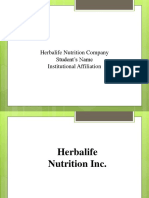 Herbalife Company Analysis-1.pptx