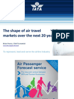 The shape of air travel markets over the next 20 years