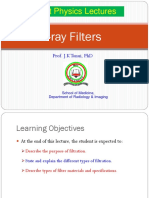 Lecture 12 X-ray Filters