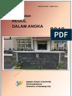 Kecamatan Regol Dalam Angka 2018