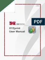 XYZprint User Manual en V1 1003