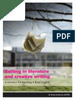 Setting Literature Creative Writing