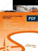 Select Arc Brochure on Ni Alloy Welding Products