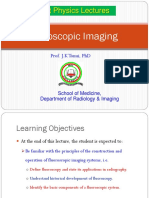Lecture 19a Fluoroscopic X-ray Imaging
