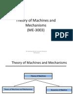 Theory of machine unit 1
