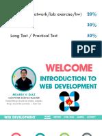 Introduction to Web Development PDF