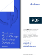 Quick Charge Device List 2019