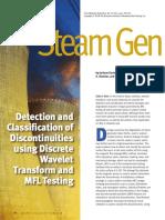 DetectionandClassificationofDiscontinuitiesusingDiscreteWaveletTransformandMFLTesting