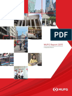 Integrated Report MUFG 2015