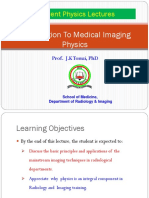 Lecture 1- Introduction To Medical   Imaging Physics (1).ppt