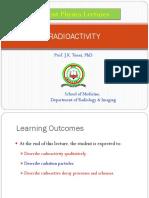Lecture 4 Radioactivity