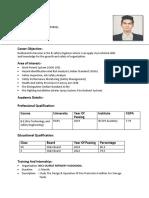 Resume Ayush Gupta