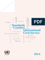 Standards of Conduct for the International Civil Service