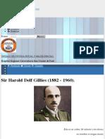 Sir Harold Delf Gillies (1882 - 1960).