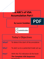 The ABC's of VSA Accumulation Part I