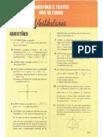 Questões e Testes de Vestibulares Para Passar