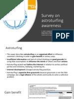 5247 Survey Astroturfing MIPRO 2019 presentation
