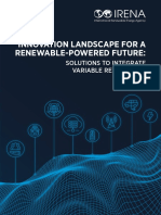 IRENA Innovation Landscape 2019 Report