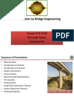1 Introduction to Bridge Engineering