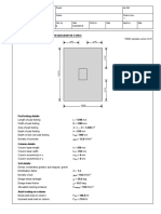 Pad Footing Design Example