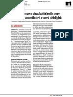 Petriccio, nuova vita da 600mila euro - Il Corriere Adriatico del 2 agosto 2019