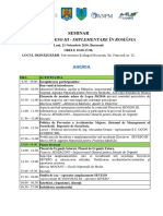 Agenda Seminar Seveso