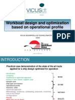2013 Workboat Design and Optimization Based on Operational Profile