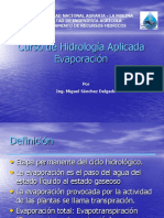 la evapotranspiracion y su calculo